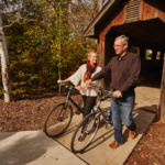 Senior Couple with Bicycles | Physical Wellness